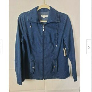 Studio Works Denim Full Zip Light Jacket